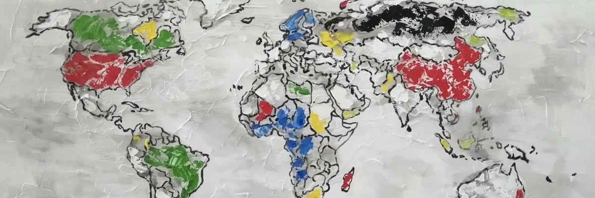 malerier verdenskort